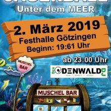 2. März 2019 – Jägerball des Musikvereins Götzingen