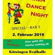 2. Februar  2019 – Narren Dance Night