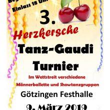 9. März 2019 – 3. Herzkersche Tanz Gaudi Turnier