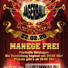 22. Februar 2020 – Jägerball des Musikvereins Götzingen